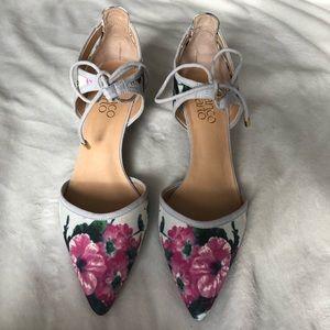 Darlis floral print pumps